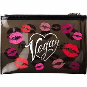 Kat von d VEGAN kiss me all over lips makeup bag